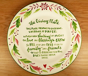 Silver Spring The Giving Plate