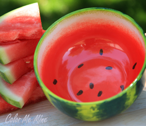 Silver Spring Watermelon Bowl