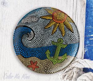 Silver Spring Nautical Dots